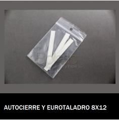 BOLSA AUTOCIERRE CON EUROTALADRO 8X12