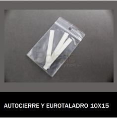 BOLSA AUTOCIERRE CON EUROTALADRO 10X15
