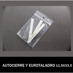 BOLSA AUTOCIERRE CON EUROTALADRO 11.5X33.5
