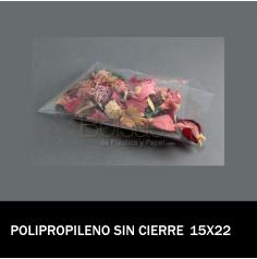 BOLSA CELOFAN 15X22