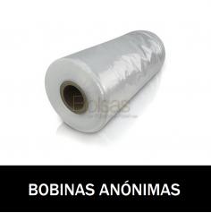 BOBINAS DE PLASTICO ANONIMAS