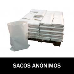 SACOS DE PLASTICO ANÓNIMOS