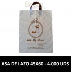 BOLSAS DE PLASTICO PERSONALIZADAS LAZO 45X60