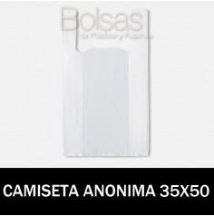 BOLSA CAMISETA ANÓNIMA 35X50