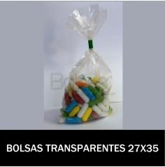 BOLSAS TRANSPARENTES 27X35