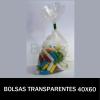 BOLSAS TRANSPARENTES 40X60