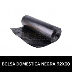 BOLSA BASURA DOMESTICA 52X60