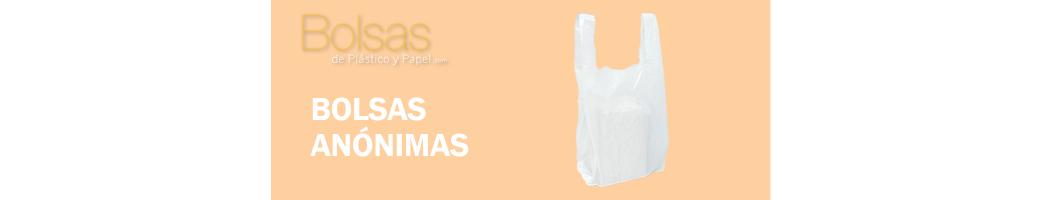BOLSAS DE PLASTICO ANÓNIMAS