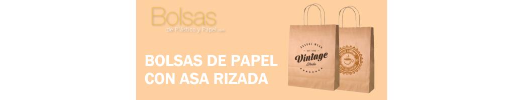 BOLSAS DE PAPEL PERSONALIZADAS ASA RIZADA